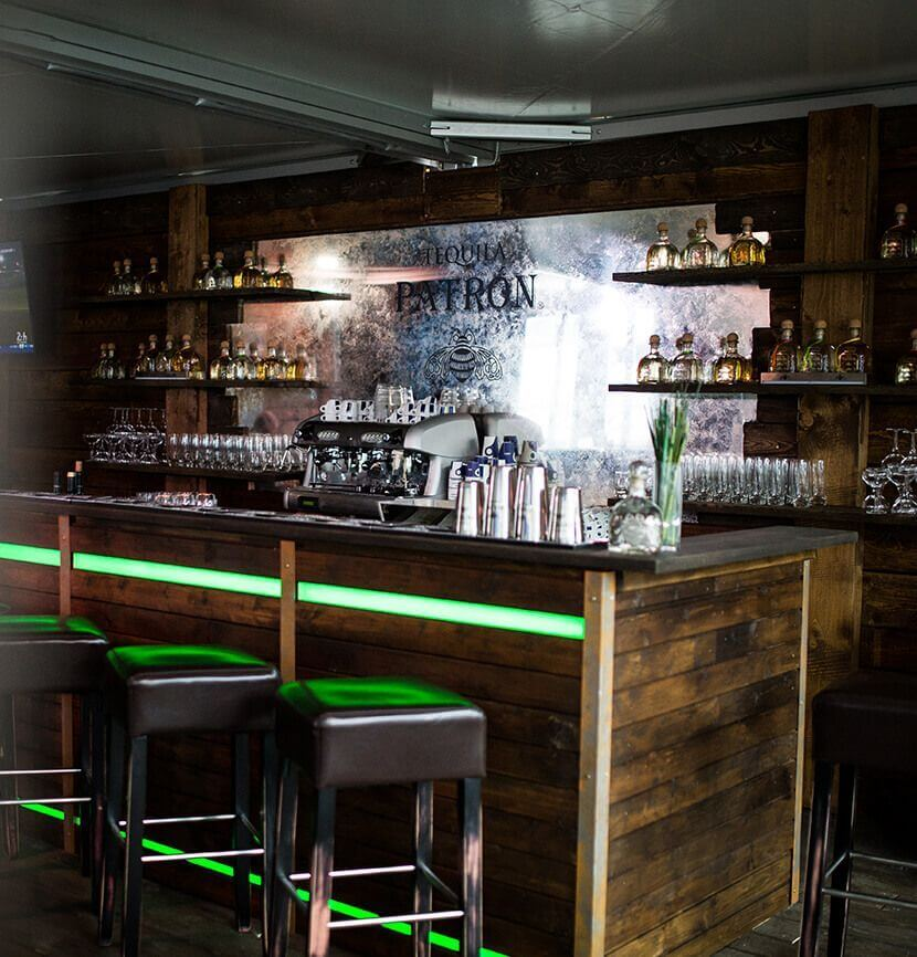 Bar in an exclusive mobile event location by eila