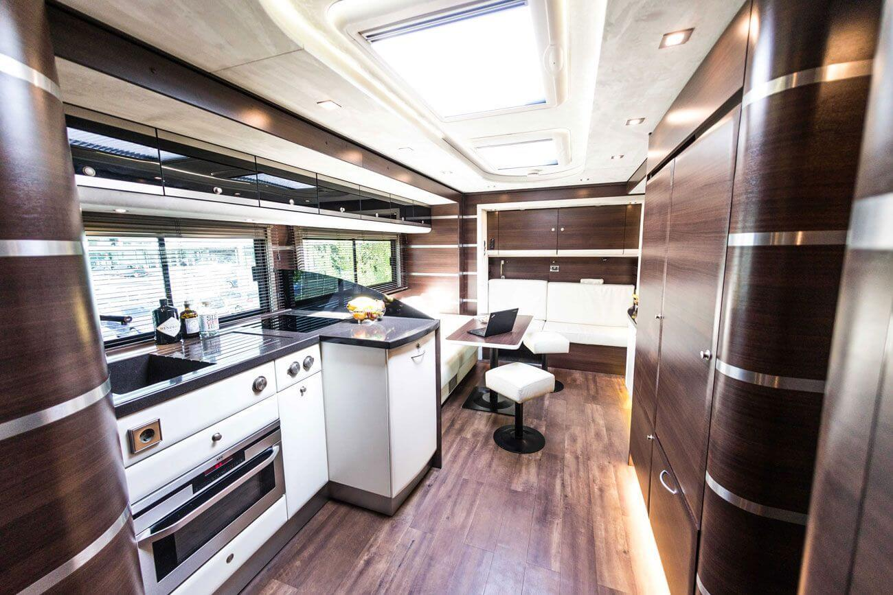 An exclusive motorhome by eila